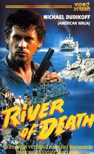 River of Death - Dutch VHS movie cover (xs thumbnail)