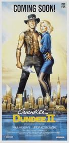 Crocodile Dundee II - Australian Movie Poster (xs thumbnail)