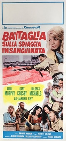 Battle at Bloody Beach - Italian Movie Poster (xs thumbnail)