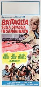 Battle at Bloody Beach - Italian Movie Poster (xs thumbnail)