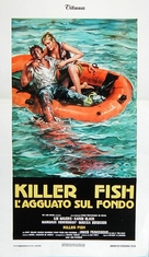 Killer Fish - Italian Movie Poster (xs thumbnail)