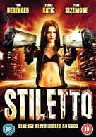 Stiletto - British DVD movie cover (xs thumbnail)