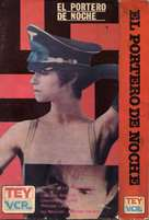 Il portiere di notte - Argentinian VHS cover (xs thumbnail)