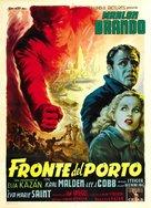On the Waterfront - Italian Movie Poster (xs thumbnail)