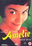 Le fabuleux destin d'Amélie Poulain - British DVD cover (xs thumbnail)