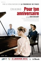 Zum Geburtstag - French Movie Poster (xs thumbnail)