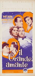 The Great Lover - Italian Movie Poster (xs thumbnail)