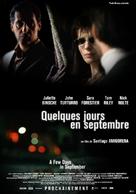 Quelques jours en septembre - French Movie Poster (xs thumbnail)