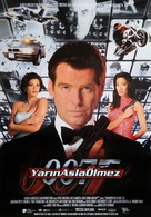 Tomorrow Never Dies - Turkish Movie Poster (xs thumbnail)
