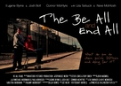 The Be All and End All - British Movie Poster (xs thumbnail)