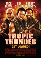 Tropic Thunder - German Movie Poster (xs thumbnail)