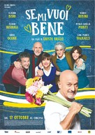 Se mi vuoi bene - Italian Movie Poster (xs thumbnail)