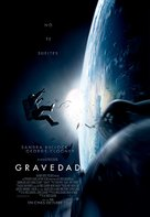 Gravity - Colombian Movie Poster (xs thumbnail)