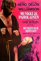 Le moine - Finnish Movie Poster (xs thumbnail)