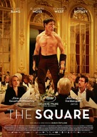 The Square - German Movie Poster (xs thumbnail)