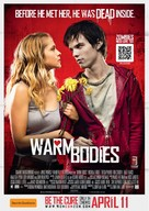 Warm Bodies - New Zealand Movie Poster (xs thumbnail)