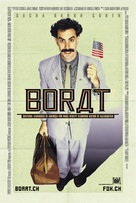Borat: Cultural Learnings of America for Make Benefit Glorious Nation of Kazakhstan - Swiss Movie Poster (xs thumbnail)