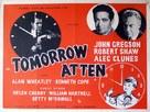 Tomorrow at Ten - British Movie Poster (xs thumbnail)
