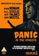 Panic in the Streets - British DVD movie cover (xs thumbnail)