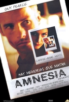 Memento - Mexican DVD movie cover (xs thumbnail)