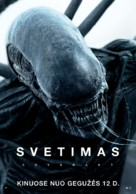 Alien: Covenant - Lithuanian Movie Poster (xs thumbnail)