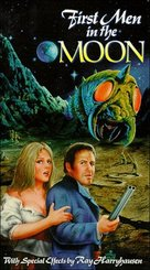 First Men in the Moon - VHS cover (xs thumbnail)