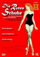 The Red Shoes - German DVD movie cover (xs thumbnail)