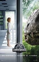 Jurassic World - Italian Movie Poster (xs thumbnail)