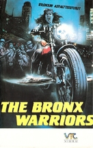 1990: I guerrieri del Bronx - Finnish VHS movie cover (xs thumbnail)