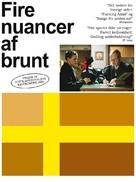 Fyra nyanser av brunt - Danish Movie Poster (xs thumbnail)