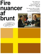 Fyra nyanser av brunt - Danish Movie Poster (xs thumbnail)