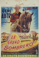 The Big Sombrero - Belgian Movie Poster (xs thumbnail)