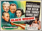 Black Widow - British Movie Poster (xs thumbnail)