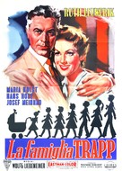 Die Trapp-Familie - Italian Movie Poster (xs thumbnail)