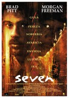 Se7en - Spanish Movie Poster (xs thumbnail)
