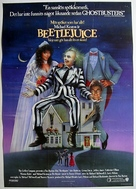 Beetle Juice - Swedish Movie Poster (xs thumbnail)