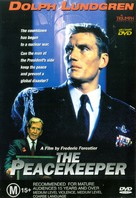The Peacekeeper - Australian DVD cover (xs thumbnail)