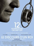 The King's Speech - French Movie Poster (xs thumbnail)