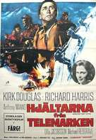 The Heroes of Telemark - Swedish Movie Poster (xs thumbnail)
