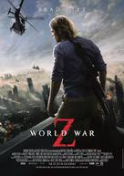 World War Z - German Movie Poster (xs thumbnail)