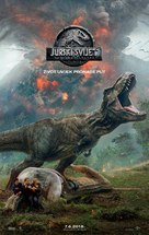 Jurassic World Fallen Kingdom - Croatian Movie Poster (xs thumbnail)