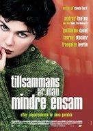 Ensemble, c'est tout - Swedish poster (xs thumbnail)