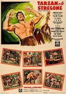 Tarzan's Fight for Life - Italian Movie Poster (xs thumbnail)