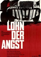 Le salaire de la peur - German Movie Poster (xs thumbnail)