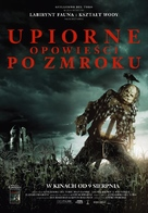 Scary Stories to Tell in the Dark - Polish Movie Poster (xs thumbnail)