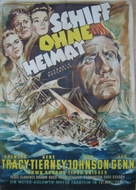 Plymouth Adventure - German Movie Poster (xs thumbnail)