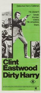 Dirty Harry - Australian Movie Poster (xs thumbnail)