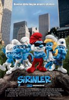 The Smurfs - Turkish Movie Poster (xs thumbnail)