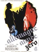 Germania anno zero - French Movie Poster (xs thumbnail)
