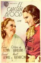 Captain Blood - Spanish Movie Poster (xs thumbnail)